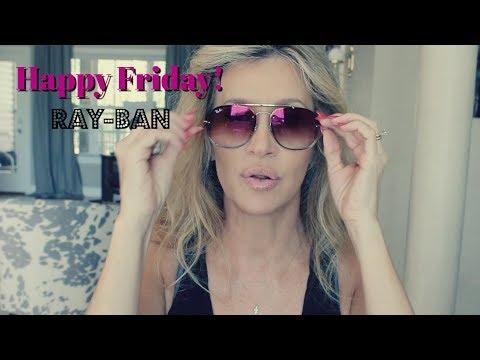 Happy Friday!  Ray-Ban Michael Kors