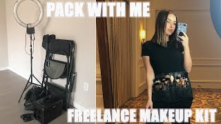 WHATS IN MY FREELANCE MAKEUP KIT | MINIMAL BUT EFFECTIVE