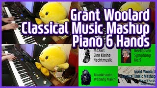 「Classical Music Mashup(arr. Grant Woolard)」 piano play by 앙뮤(angmyu)