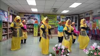 Ekspresi NILAMku Tari Anak Panglima SKTPG 2018