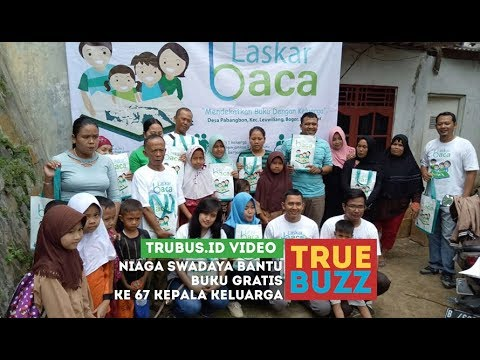 Niaga Swadaya Bantu Buku Gratis ke 67 Kepala Keluarga
