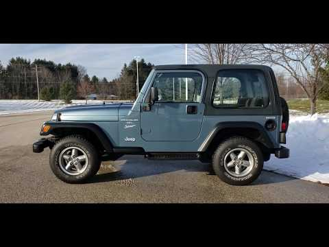 1999 Jeep® Wrangler Sport in Big Bend, Wisconsin - Video 1