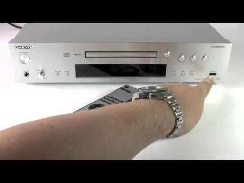 ONKYO C-7070 CD-Player mit iPod, iPhone, USB & MP3-Wiedergabe