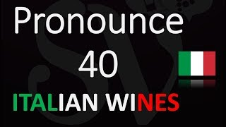 Top 40 Italian Wine Terms YOU NEED To KNOW