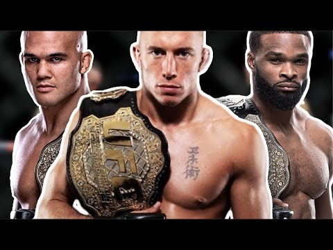 EVERY Welterweight Champion In UFC History (Georges St-Pierre, Kamaru Usman, Colby Covington)