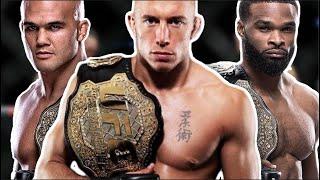 EVERY Welterweight Champion In UFC History (Georges St-Pierre, Kamaru Usman, Colby Covington, etc)