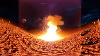 10,000 Sparklers Erupt in 360