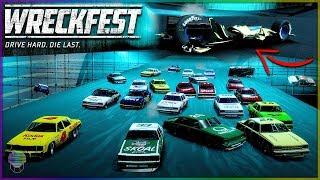 PITFAULT BLOWOUT! [MOST MANGLED CAR EVER!]   Wreckfest