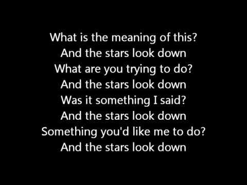 The Stars Look Down performed by Rush