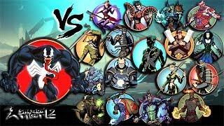 Shadow Fight 2 Venom Vs All Bosses