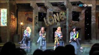 [SBS] 2NE1 - Lonely (인기가요 0529)