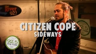 Citizen Cope performs 'Sideways' in the River Music Hall