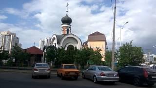Песни Кобзона и Лещенко в церкви УПЦ МП в Киеве на 9 Мая - Любимый город