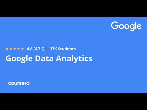 Google Data Analytics Professional Certificate - Full course Part 1 of 7