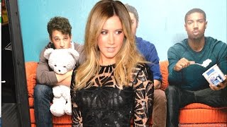 Ashley Tisdale Has Her Own 'Awkward Moment' at Movie Premiere