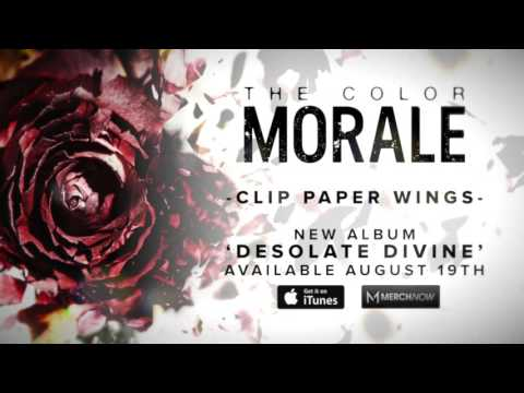 The Color Morale - Clip Paper Wings