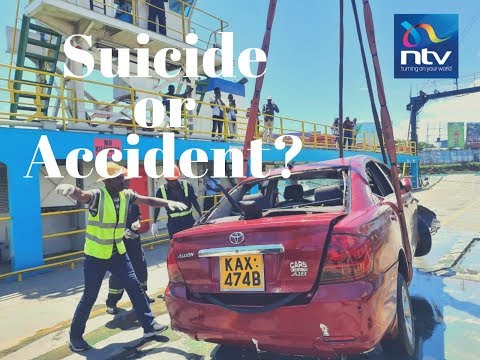 Saloon car plunged into Indian Ocean at around 4:20 AM ~ Kenya Ferry Service