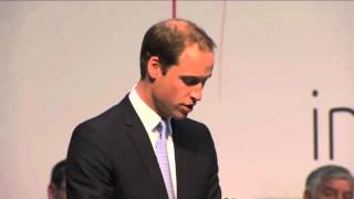 Prince William jokes about Prince Harry