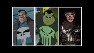 Punisher Evolution In Movies, Cartoons & TV (2018)
