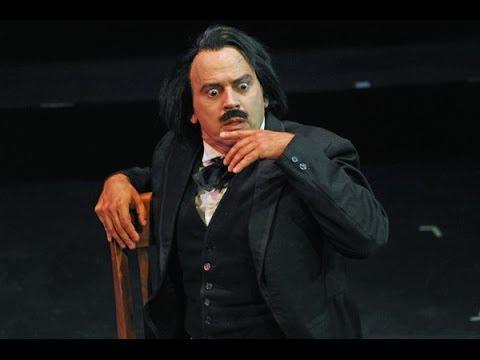 Edgar Allan Poe performs The Raven