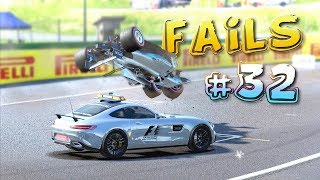 Racing Games FAILS Compilation #32