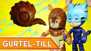Abenteuer mit Gürtel-Till! ⚡ PJ Masks Deutsch ⚡ Spielzeug für Kinder | Pyjamahelden