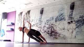 AK44 Intermediate Vinyasa Hatha class with Bobi Nikolov Backbends Shoulders
