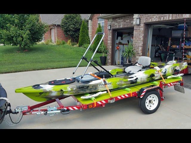 Best Kayak Trailer EVER!!! $300