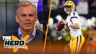 Joe Burrow is not a great prospect, he's a great story, Colin talks Dak contract | NFL | THE HERD