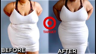 Trying the CHEAPEST Shapewear at TARGET!