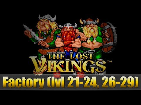 The Lost Vikings  (Factory lvl 21-24, 26-29)