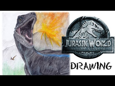 Jurassic World -  Fallen Kingdom | Drawing