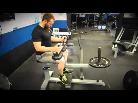 Seated Calf Raise Machine (Toes Out)