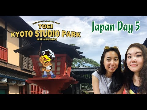 Japan Vlog [Day 5] - Internet Cafe, Toei Kyoto Studio Park, Kyoto Apartment Tour and MORE!