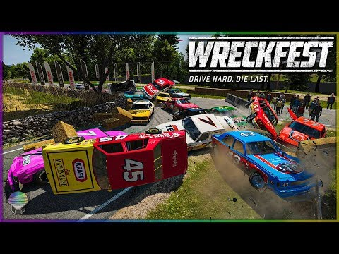 FINAL CORNER FAILS! [Farmlands Stage 4] | Wreckfest | NASCAR Legends