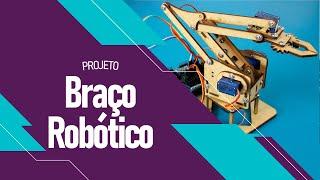 Braço Robótico Em MDF Para Arduino