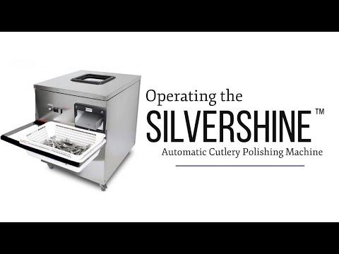 Operating Silvershine - The Automatic Cutlery Polishing Machine