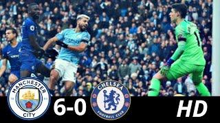 Manchester City Vs Chelsea 6-0 | GOLEADA IMPRESIONANTE | RESUMEN Y GOLES
