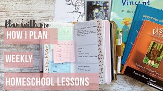 Plan With Me Weekly Homeschool Lesson Plans