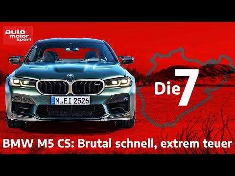 BMW M5 CS: Die 7 wichtigsten Fakten zum stärksten Serien-M aller Zeiten | auto motor und sport