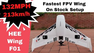 High Speed Fastest out of box FPV Racing Flying Wing