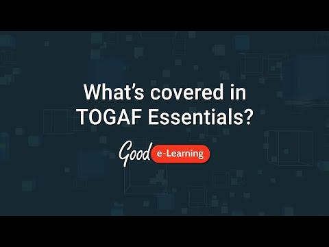 How can I study TOGAF Essentials? - Good e-Learning (TOGAF ...