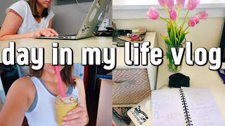 college day in my life | staying PRODUCTIVE on my day off!