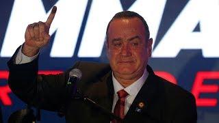 63-year-old Alejandro Giammattei announced as Guatemala's new president