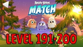 Angry Birds Match - LEVEL 191-200 - CAMPING TRIP - HIKING HANNA - Gameplay - EP15