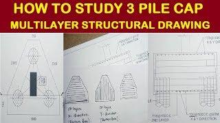 3 Pile Cap Concrete Volume Calculation   Civil Construction Videos