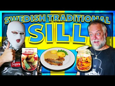 ANOMALY AND PAPA MAKE TRADITIONAL SWEDISH SILL
