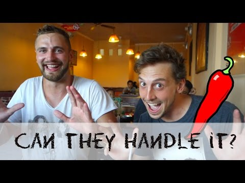 German Guys Eat At SS For The First Time | Special Sambal | Bali