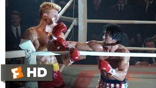 Rocky IV (8/12) Movie CLIP - The Russian's Cut (1985) HD