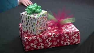 Second Chance Volunteers to Wrap Presents